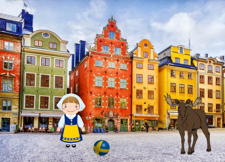 Get away from it all for the month of Sweden on Anisnow!